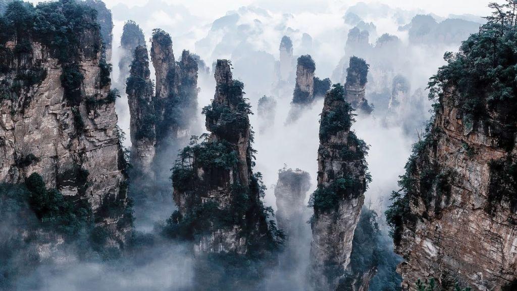 Dãy núi Tianzi