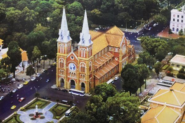 Kiến trúc nổi bật của nhà thờ Đức Bà